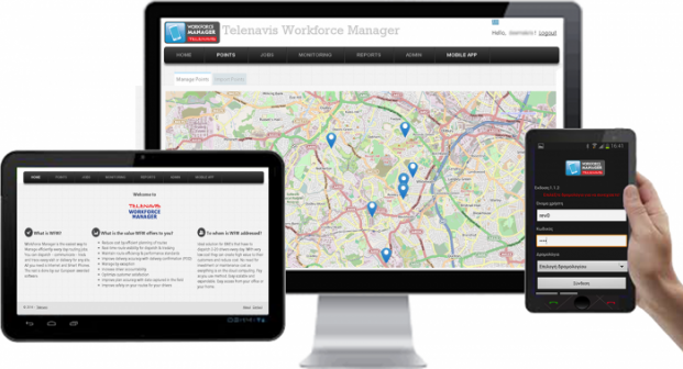 WorkForce Manager Mobile Web Tablet